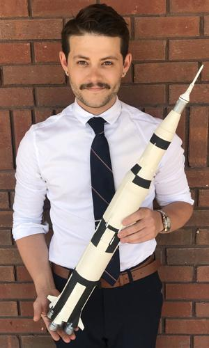 Reaching for the stars: Enterprise man to join commercial space program