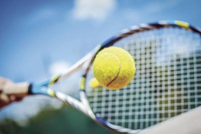 Prep tennis logo