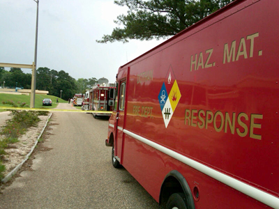 Possible chemical spill reported in Dothan