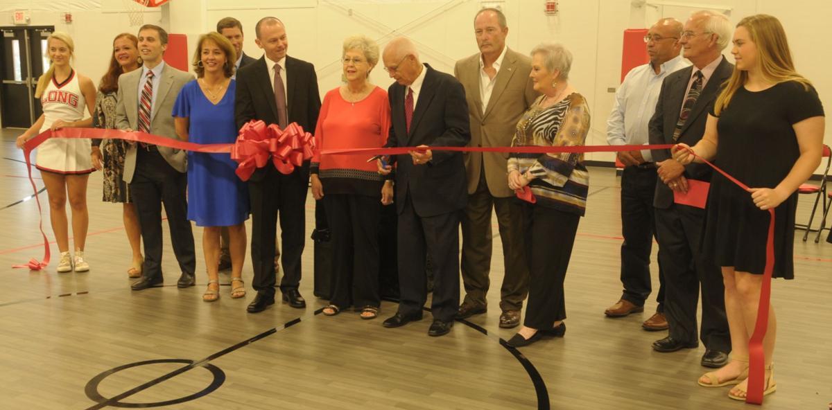 G.W. Long School elementary gym dedication