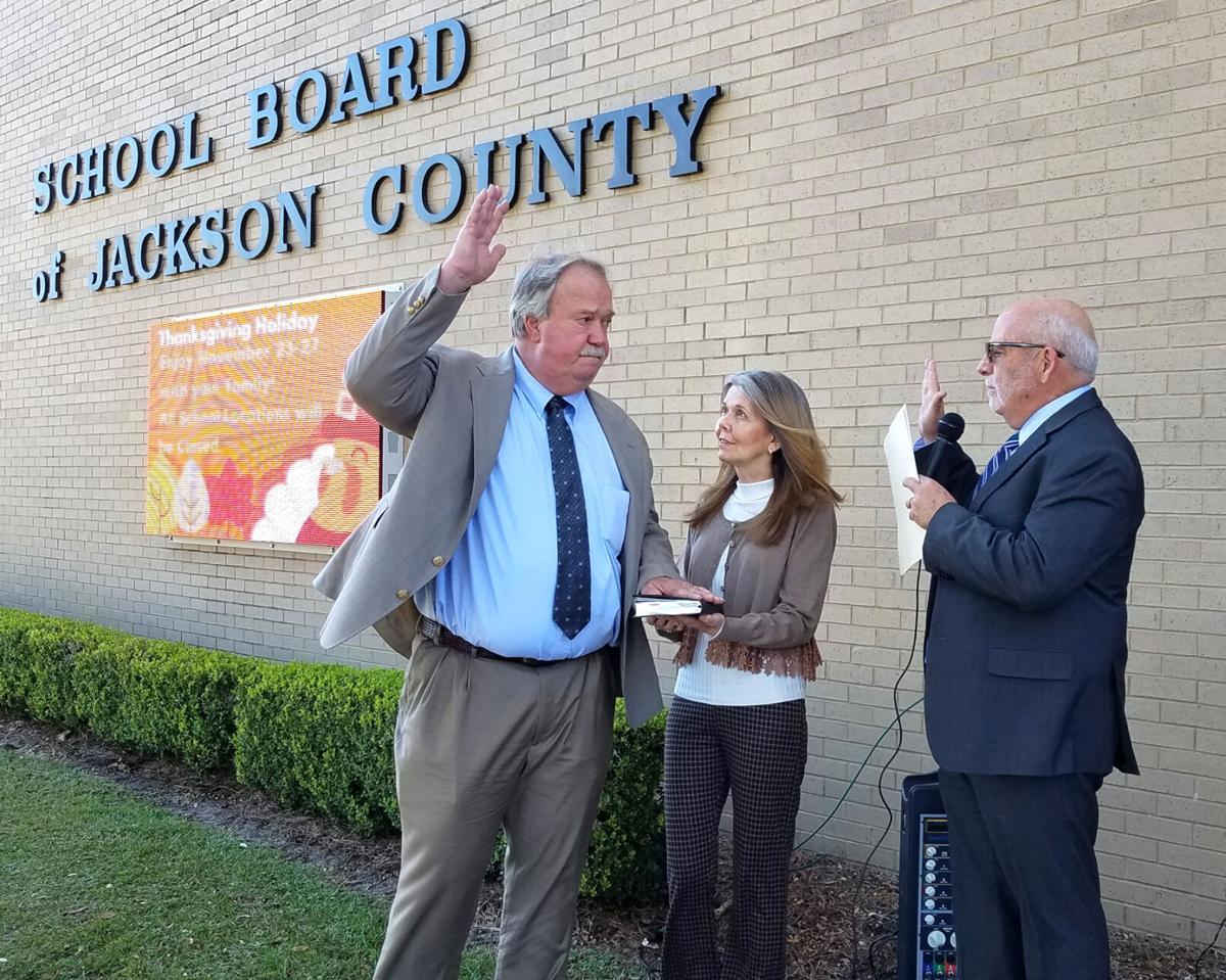 Superintendent of Schools Steve Benton