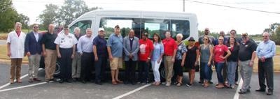 Disabled American Veterans presents new van