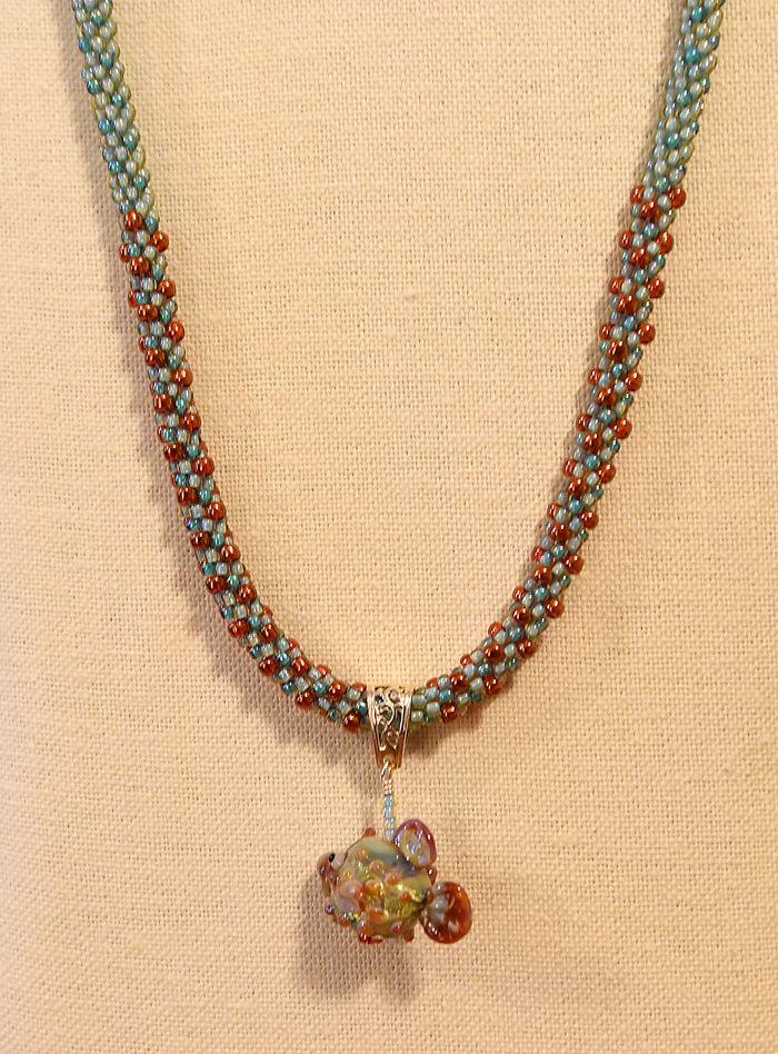 kumihimo technique creates comfortable jewelry local