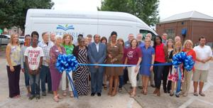 Library celebrates new bookmobile