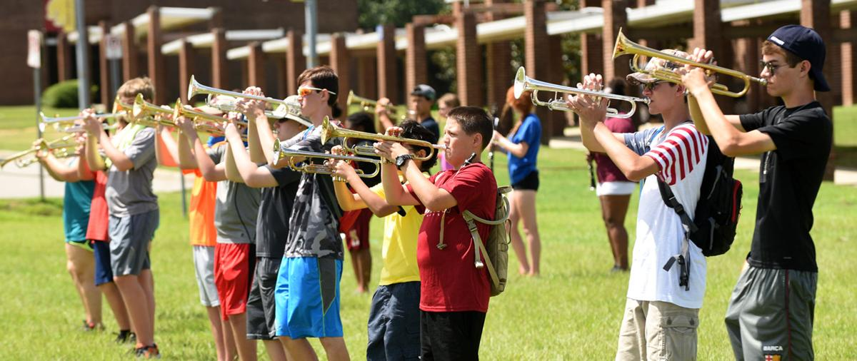 Northview High band camp