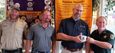 Talon Training CEO visits Optimists