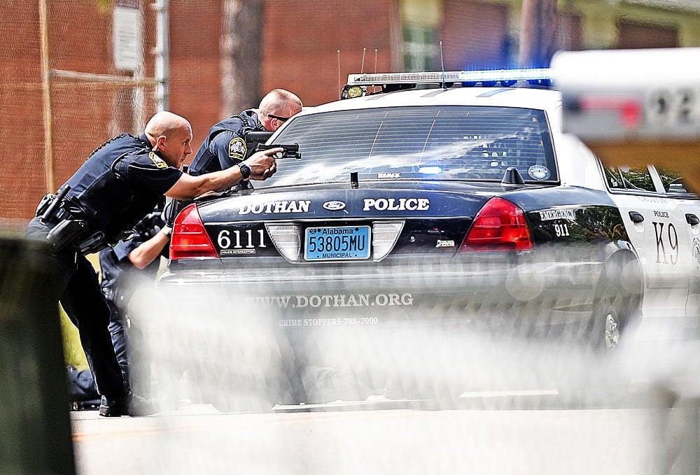 Shooting on Sixth Avenue