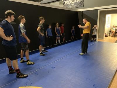 Youth wrestling club