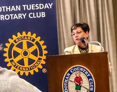Phyllis Edwards Dothan Rotary
