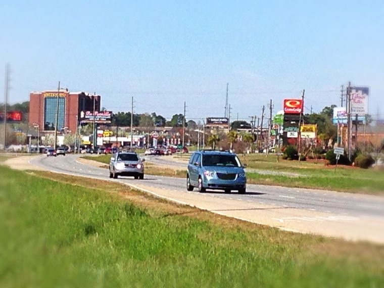 Ross Clark Circle Widening Project
