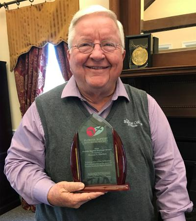 Kinchen receives FBHS Heritage Award
