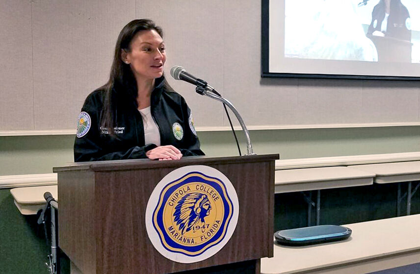 Florida Ag Commissioner Nikki Fried hosts town hall in Jackson County