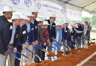 Ben E. Keith breaks ground on New Brockton distribution center