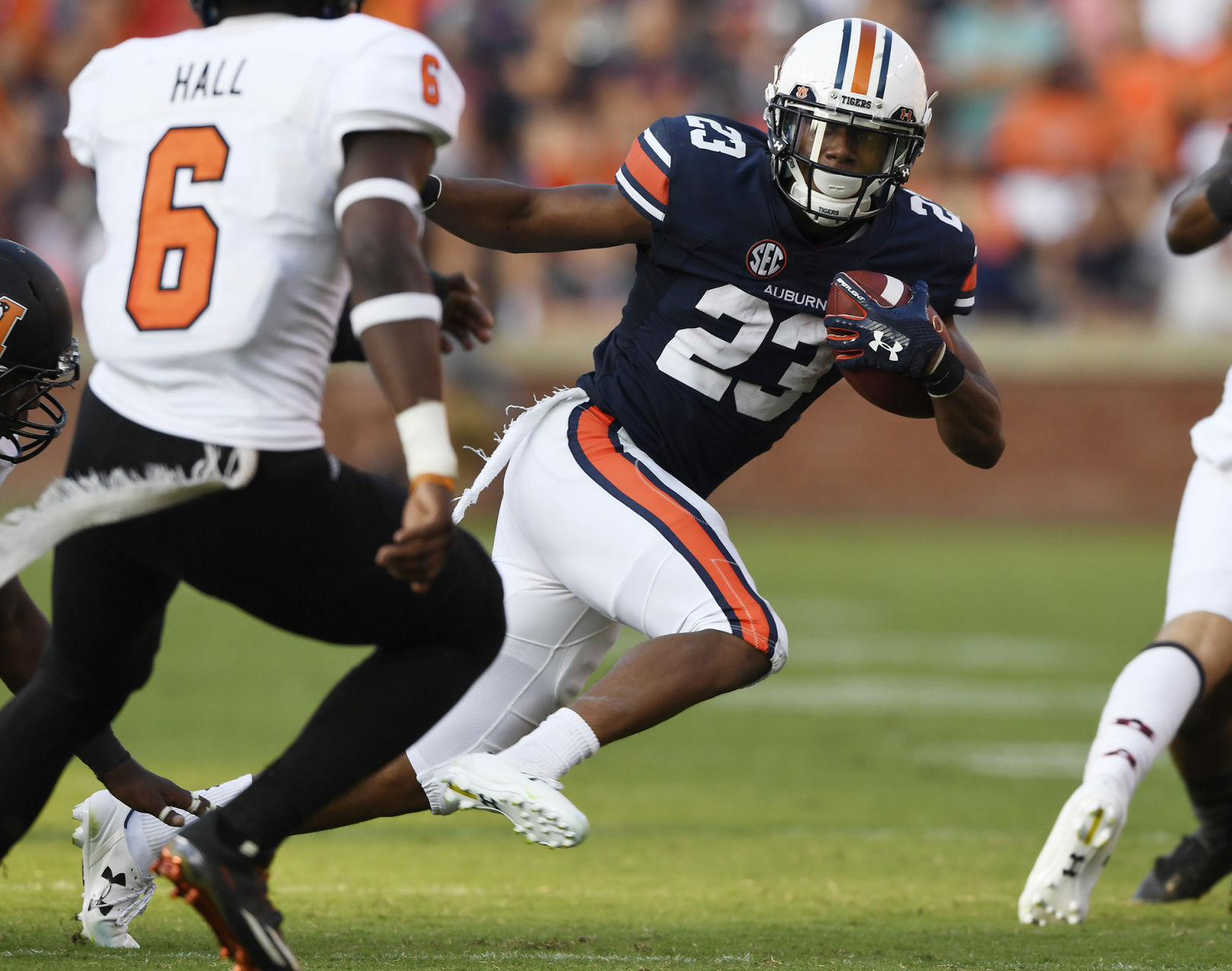 Auburn defensive coach Greg Brown discusses facing his former team, Missouri, Saturday