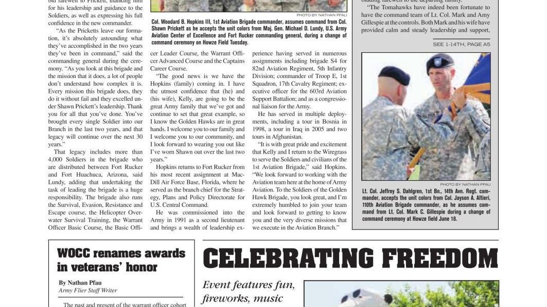 Army Flier E-Edition | News | dothaneagle com