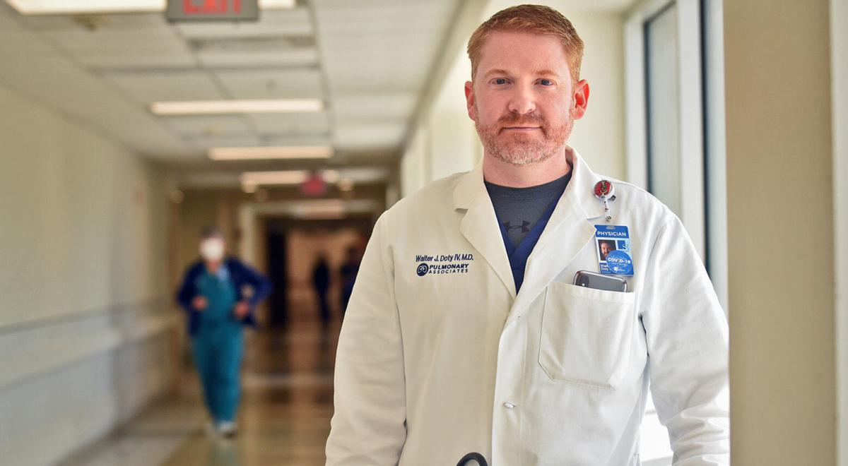 Local doctor shares view of pandemic