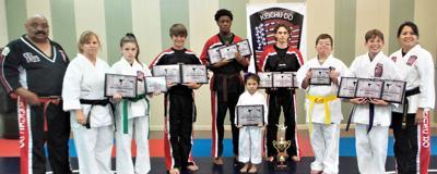 Enterprise Karate students excellent at tournament