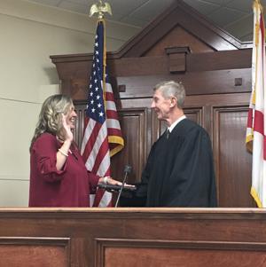 Reeves sworn in as circuit clerk