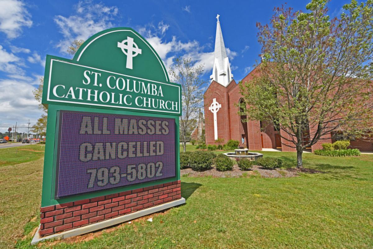 Area churches suspending services