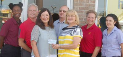 Every dollar counts: Ronald McDonald House receives local donation