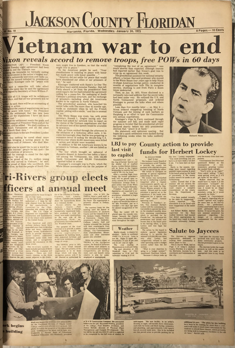 From The Floridan Archives 1973 Local Dothaneagle