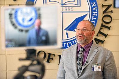 Dothan City Schools Superintendant Dennis Coe speaks to reported rape at Dothan High (copy)