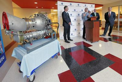 Alabama Aviation College receives engine for training students