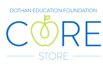 Dothan Education Foundation Core Store logo