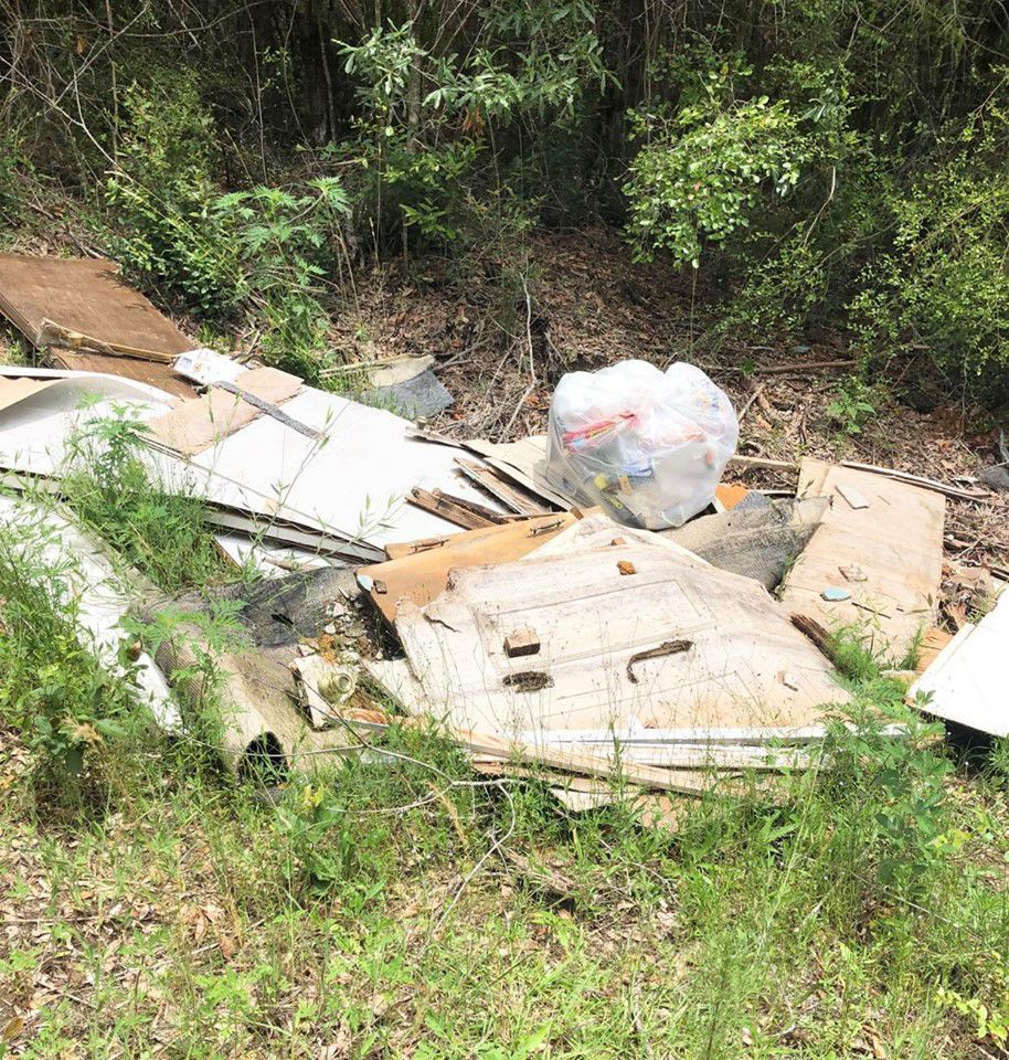 Bonifay man charged with illegal dumping
