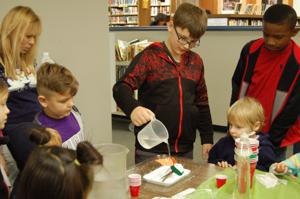 'Snow much fun': Library hosts craft event with homemade snow