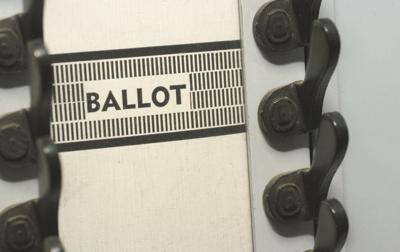 Voting ballot generic