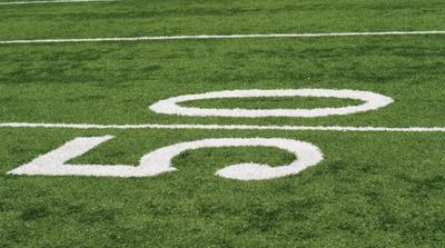 Football logo for website posting