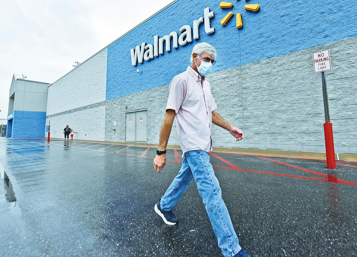 Walmart announcing mask policy