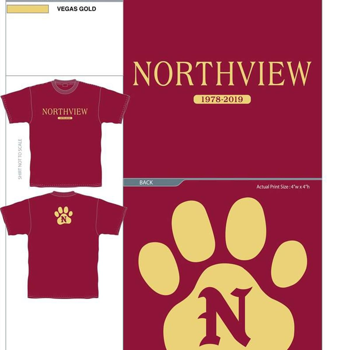 d097e47b9 Always Remember Northview High School': Tee-shirt project profits ...