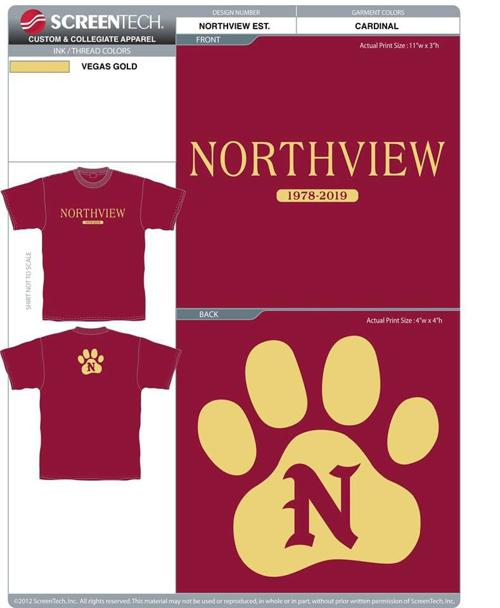 add8fc313 'Always Remember Northview High School': Tee-shirt project profits going to  new athletic program | News | dothaneagle.com