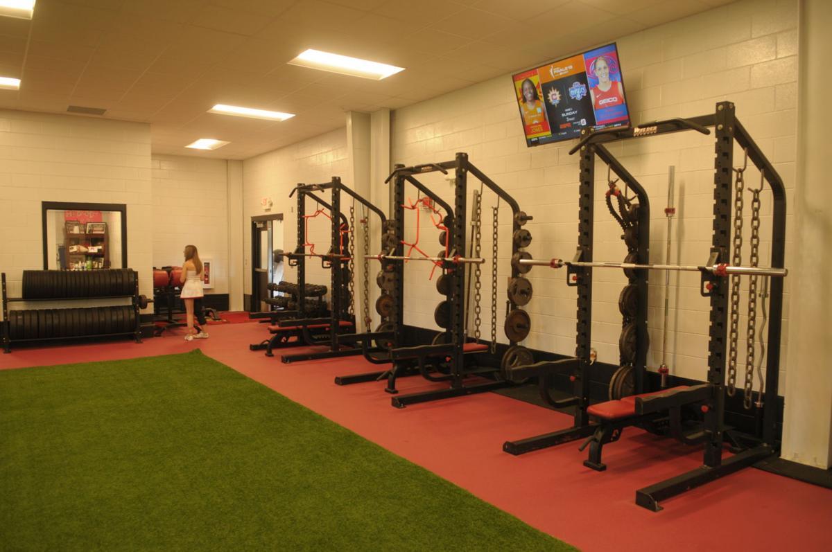 G.W. Long School weight room