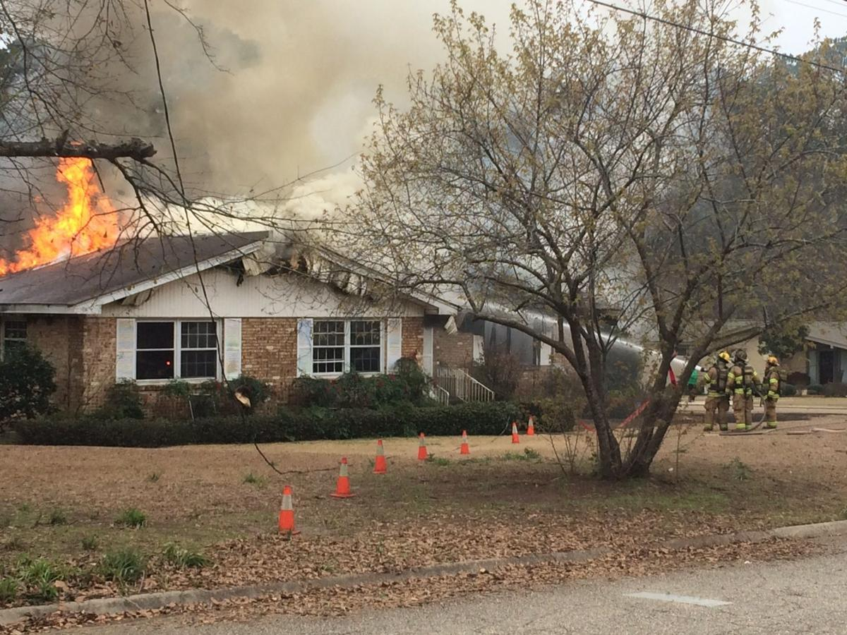 House catches fire on Sequoyah Drive | Local | dothaneagle com