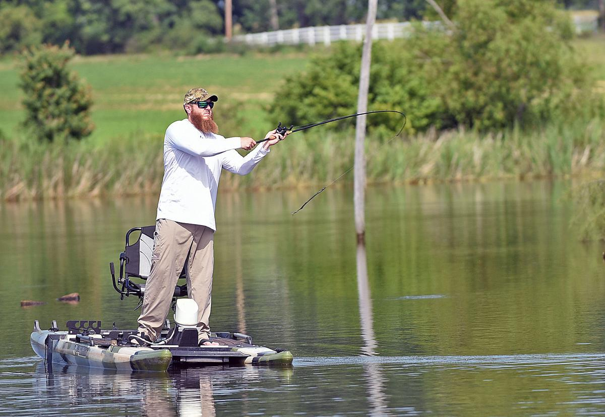 Loren Johnson Hooks Followers With Fishing Videos Local Dothaneagle Com