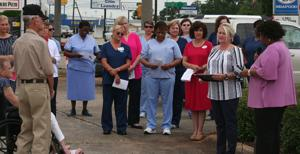 Kindred Hospice raises flag in inaugural Flag Day ceremony