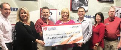All In Credit Union donates to Worldwide Foundation for Hurriacane Dorian Relief