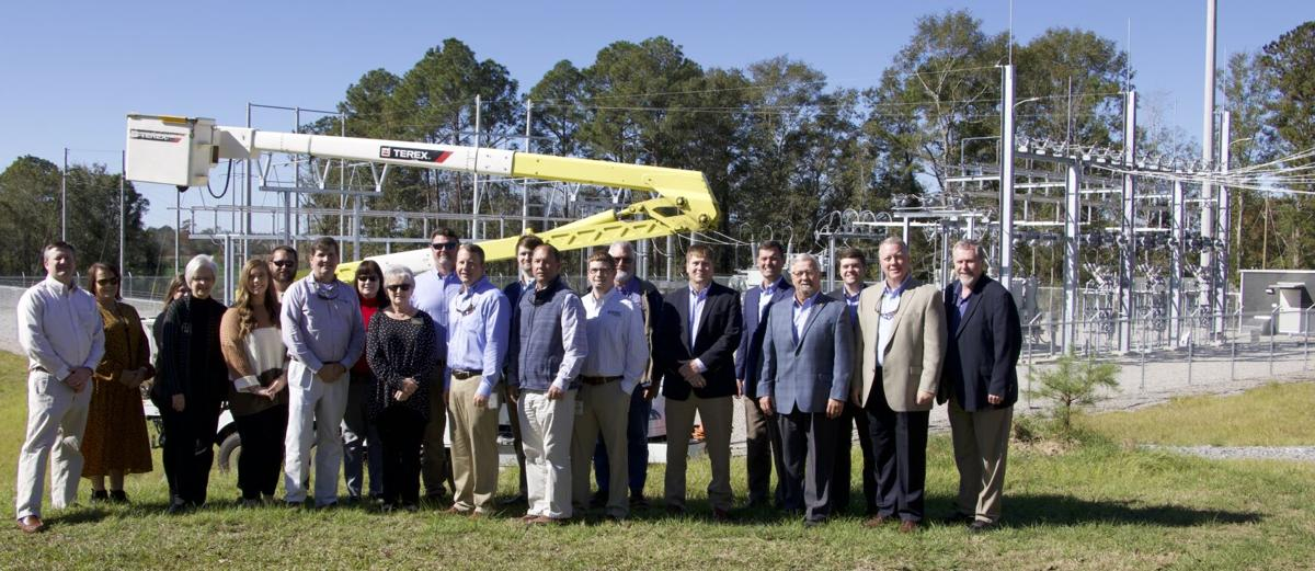 WEC commissions $2.6 million substation in Fadette