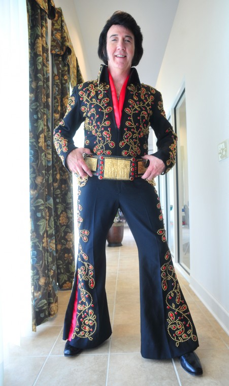 Jackson has been impersonating Elvis for years and recently won a T&a-area Elvis tribute artist contest ...  sc 1 st  Dothan Eagle & Local Elvis performer gets shot at ultimate tribute | Lifestyles ...
