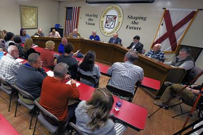 Houston County Board of Education meeting