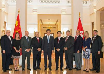 Mayors make stop in Hong Kong   News   dothaneagle com