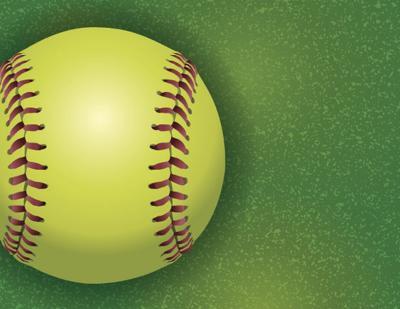 Generic softball logo