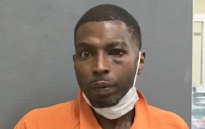 Altercation with law enforcement lands one man in jail on multiple charges