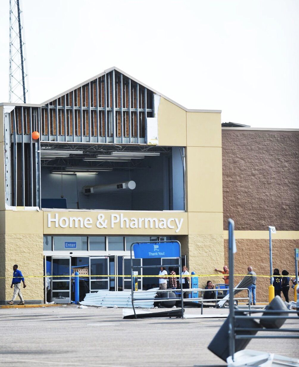 Storm Damaged Wal Mart In Troy Could Partially Reopen Soon
