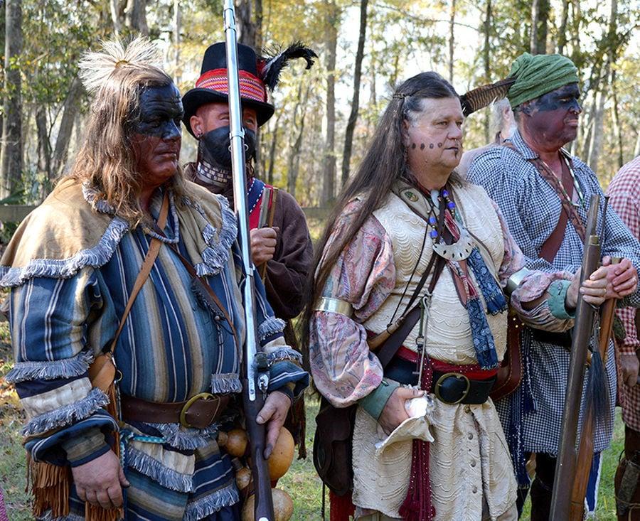 Scott 1817 Seminole War Battle reenactment
