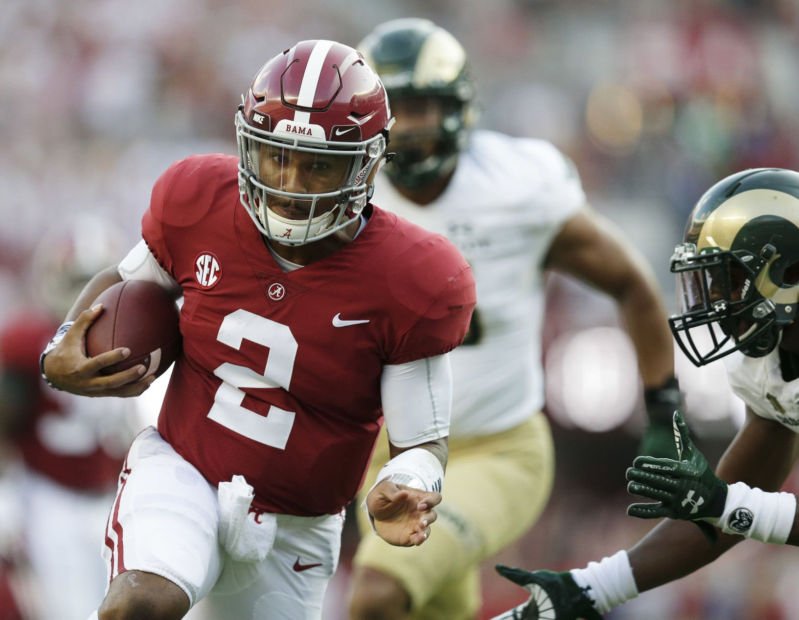 Ranked Alabama rolls against Colorado State