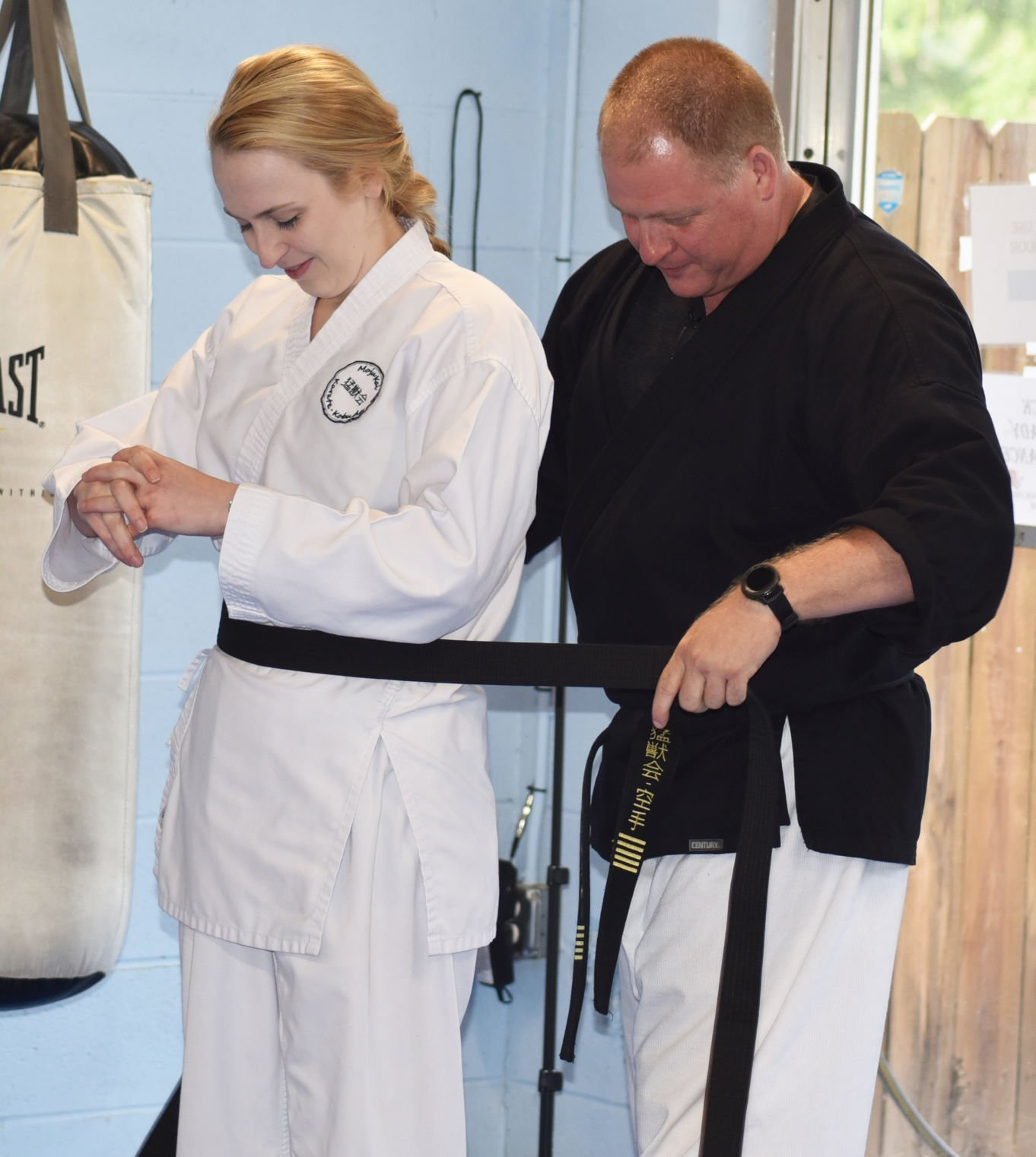 MojuKai Karate promotes, awards fighters